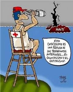 """""""Diese Katastrophe ist eine Kopie von 2 früheren Erdbeben... des Kolonialismus und des Kapitalismus"""" (aus Granma Internacional)"""