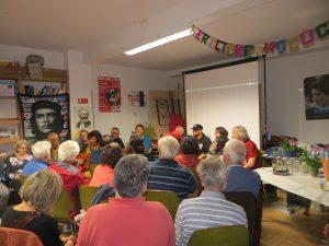 Geburtstagsfeier für Fidel in Hamburg